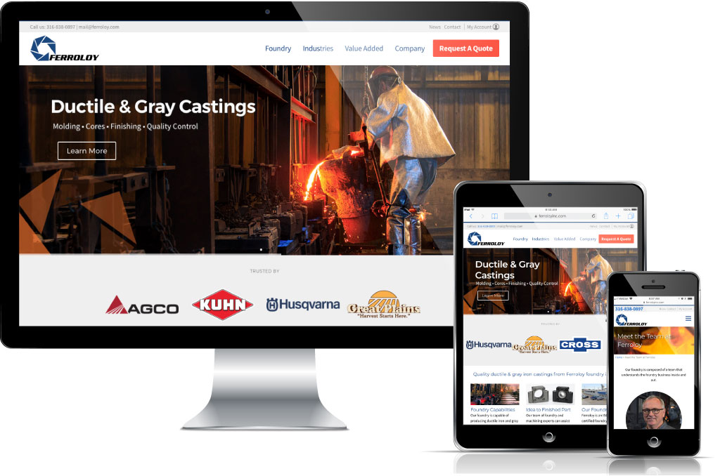 Foundry web design