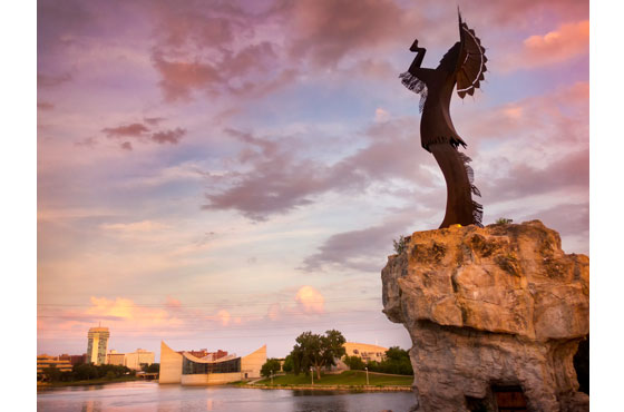 Keeper of the Plains Wichita KS