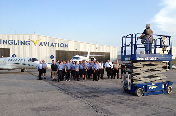 Team at Yingling Aviation